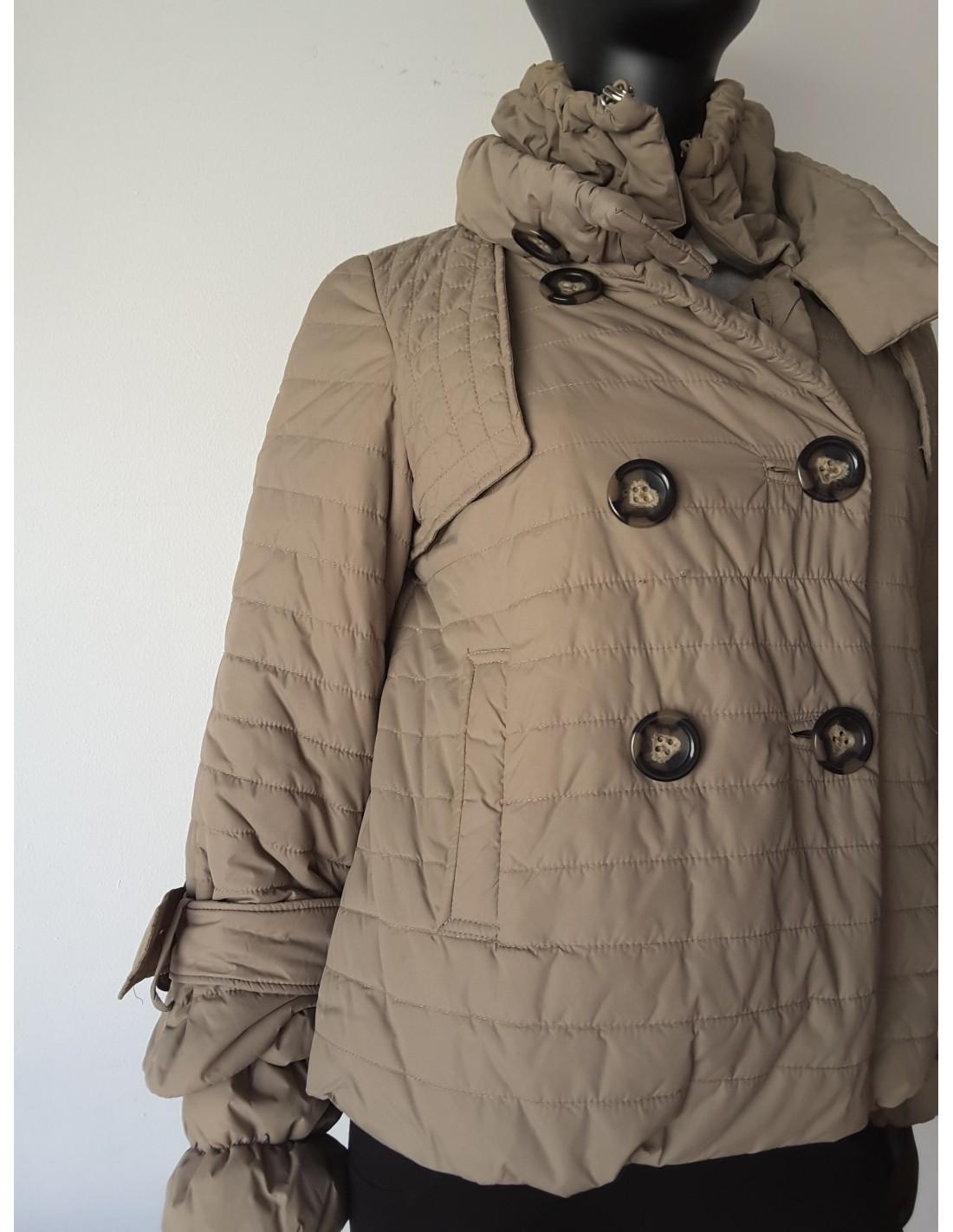 Purificacion garcia abrigos plumas
